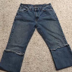 🧔🏻3for$15🧔🏻32x32 slim bootcut bullhead jeans.
